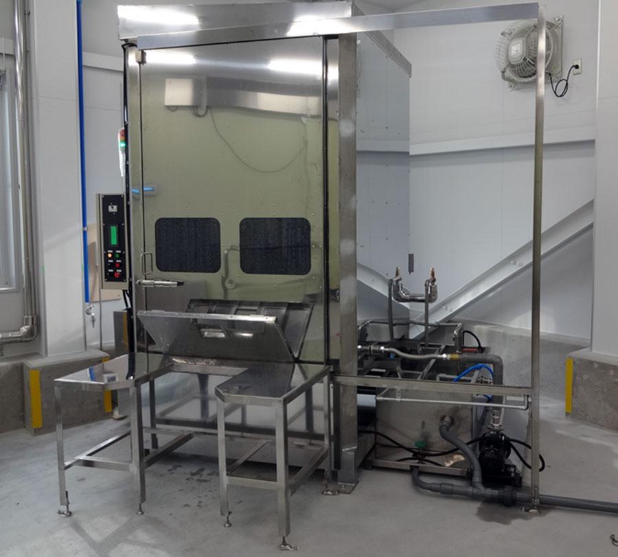 汎用型・プラコン洗浄脱水機のイメージ